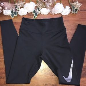 Nike Dri Fit New Leggings with Logo on side